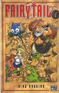 couverture manga Fairy Tail