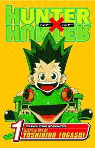 couverture manga Hunter X Hunter